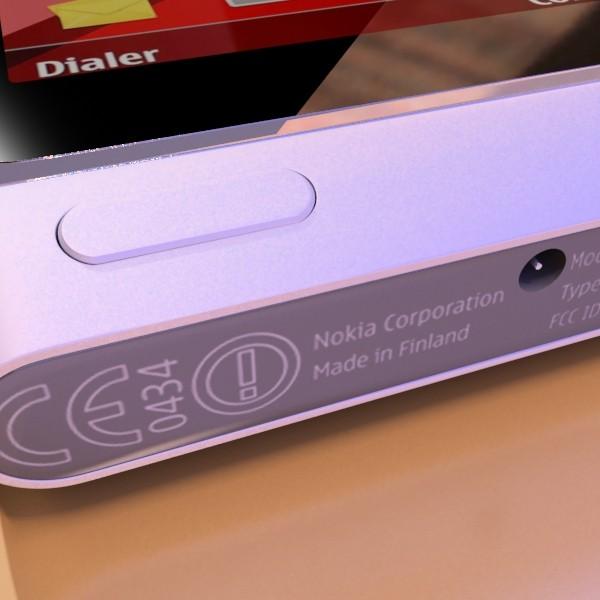 3D Model Nokia N 8 High detail ( 51.38KB jpg by VKModels )