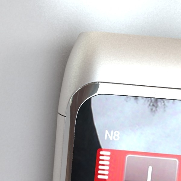 3D Model Nokia N 8 High detail ( 43.28KB jpg by VKModels )