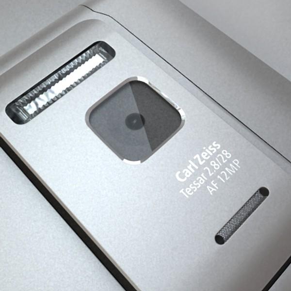 3D Model Nokia N 8 High detail ( 64.95KB jpg by VKModels )