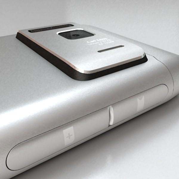 3D Model Nokia N 8 High detail ( 46.5KB jpg by VKModels )
