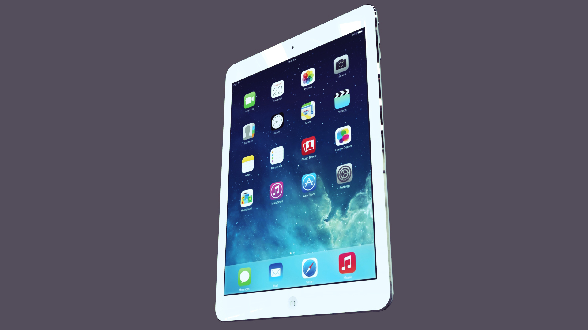 Apple ipad air 3d mudel fbx muu obj 158566