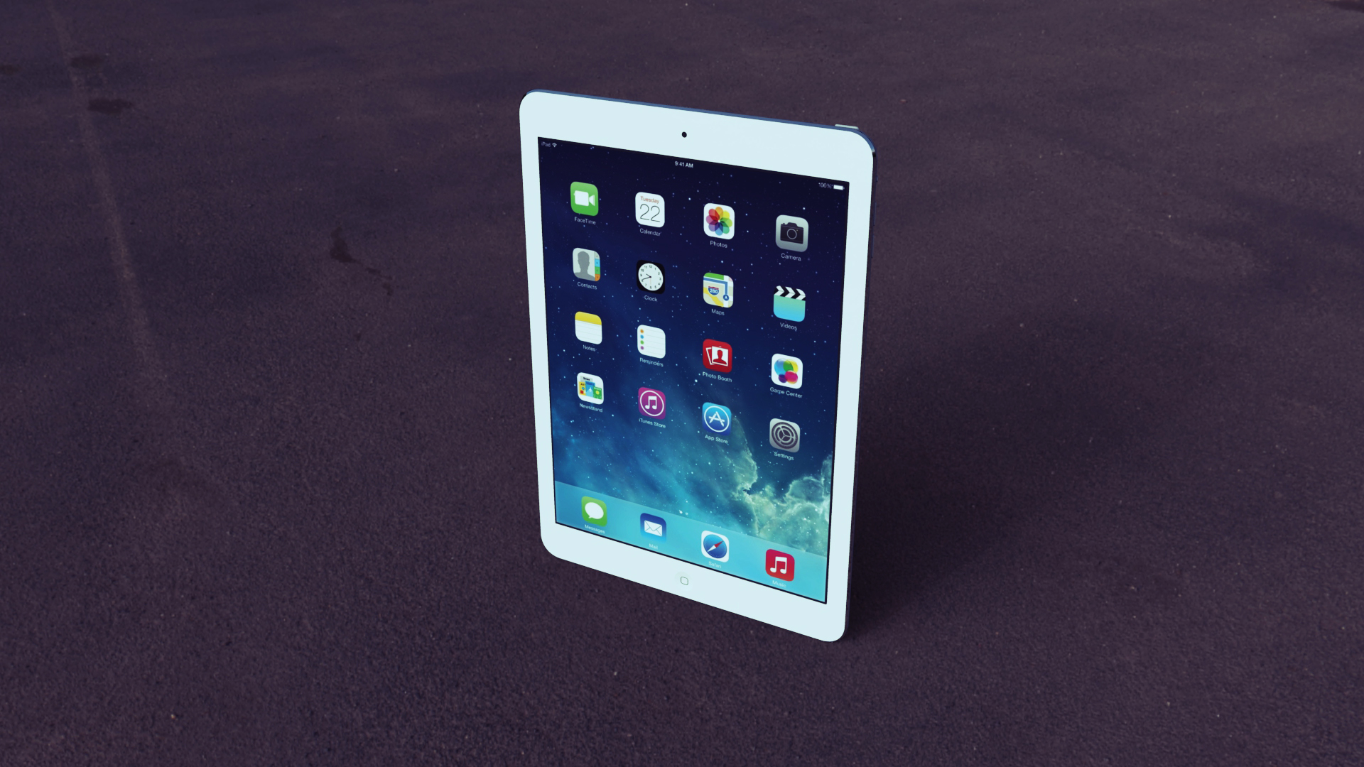 apple ipad air 3d model fbx other  obj 158572