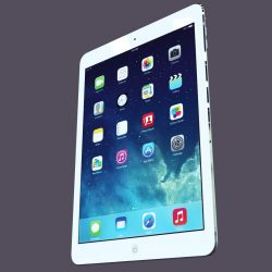 Apple iPad Air 3d model 0