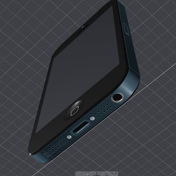 Apple Iphone 5 cad model ( 162.64KB jpg by futurex3d )