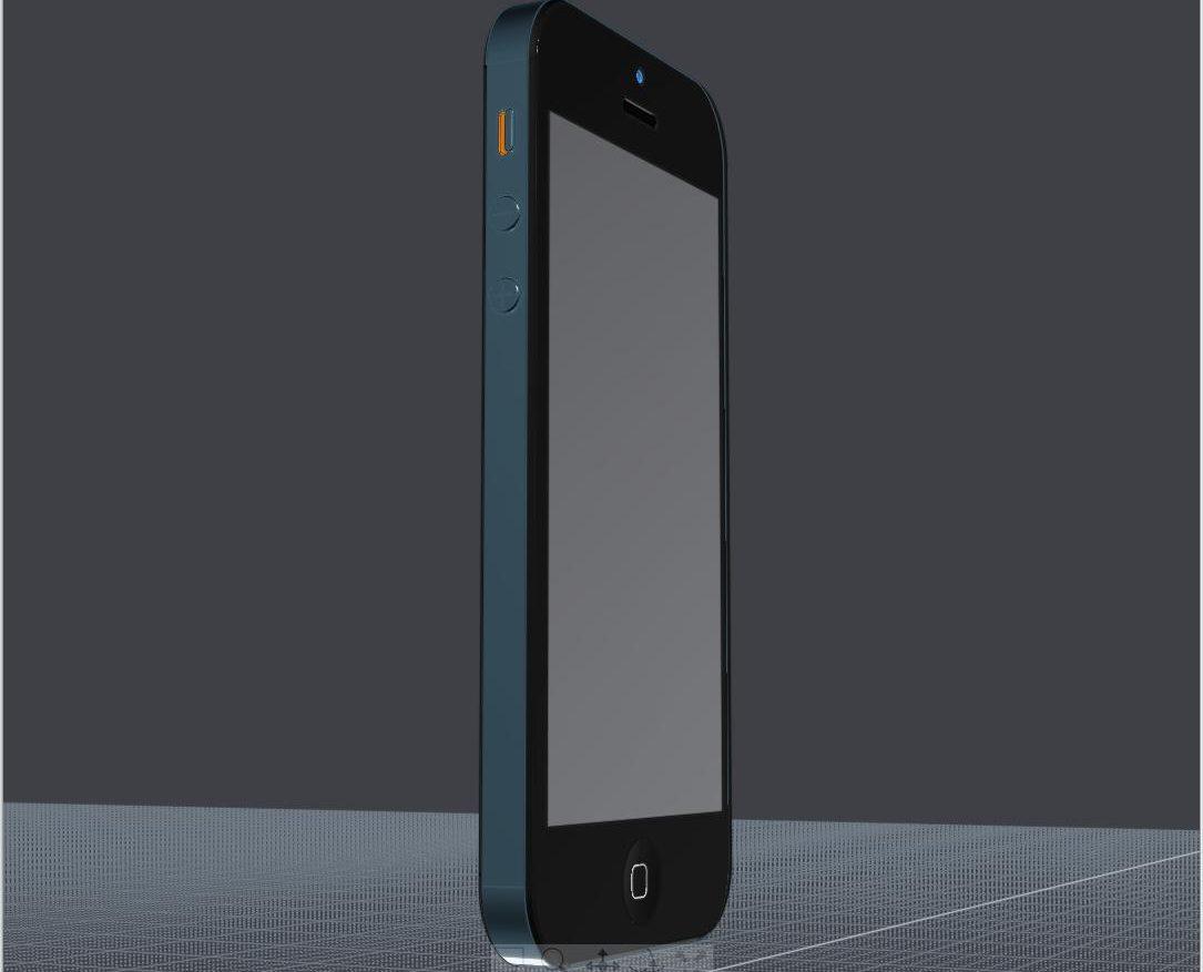 Apple Iphone 5 cad model ( 61.29KB jpg by futurex3d )