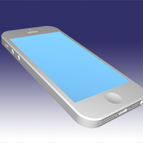 Apple Iphone 5 cad model ( 113.24KB jpg by futurex3d )