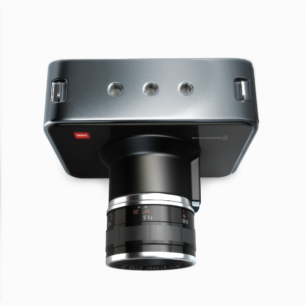 blackmagic kamera 3d modelis 3ds max fbx obj 140413