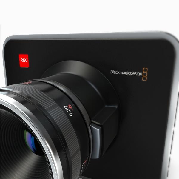 blackmagic kamera 3d modelis 3ds max fbx obj 140418