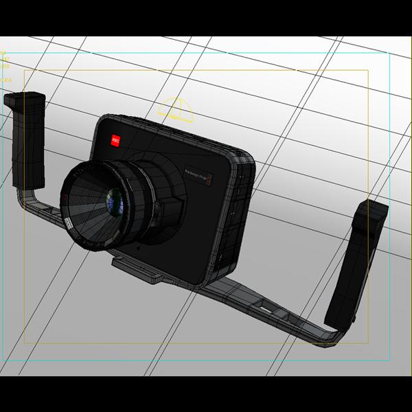 blackmagic kamera 3d modelis 3ds max fbx obj 140422