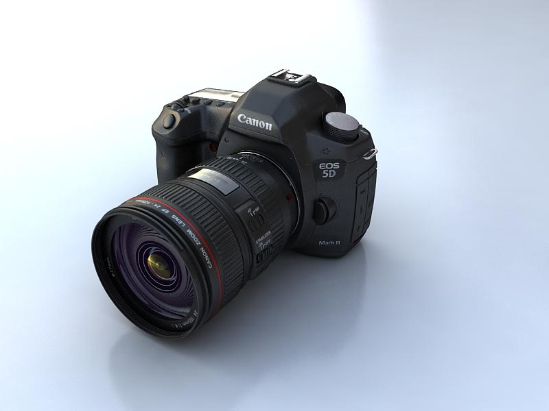 canon 5d mark3 3d model max 145328