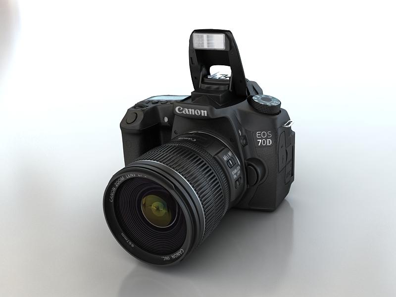 canon 70d 3d model max 157885