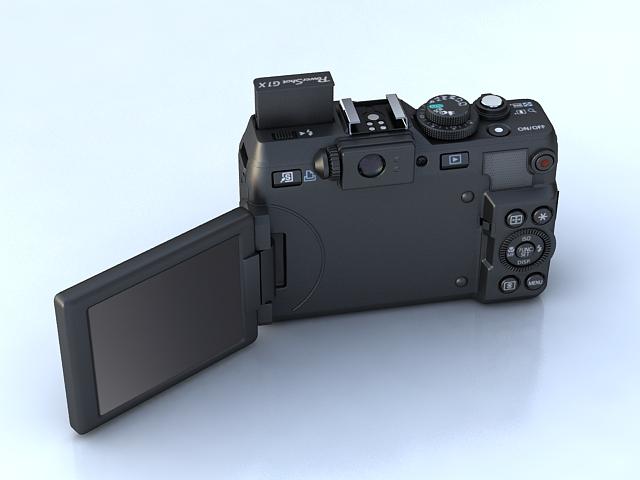canon powershot g1 x 3d model max 136907