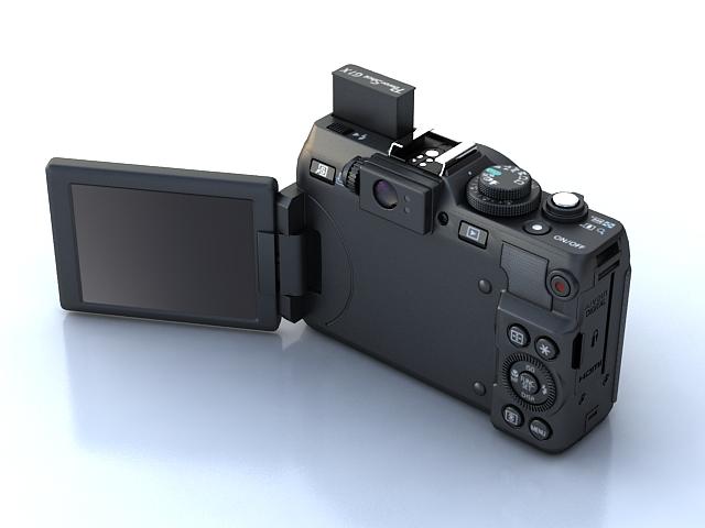canon powershot g1 x 3d model max 136908