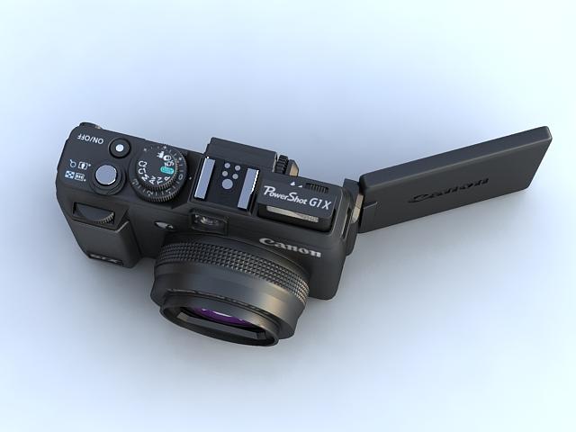 canon powershot g1 x 3d model max 136910