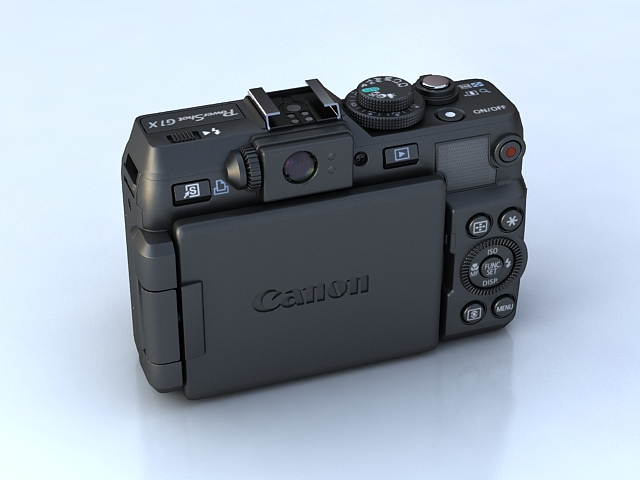 canon powershot g1 x 3d model max 136911