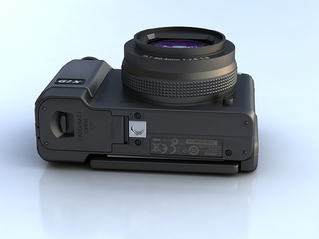 canon powershot g1 x 3d model max 136913