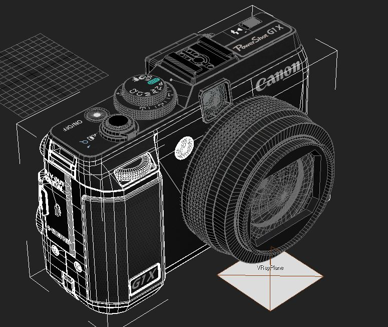 canon powershot g1 x 3d model max 136914