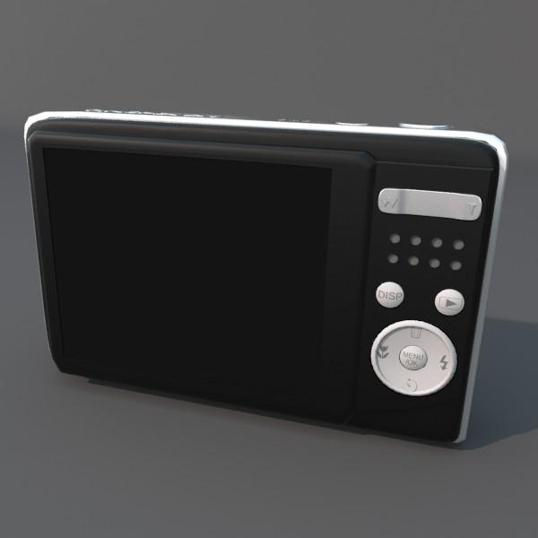 digitālā kamera 100 3d 3ds fbx blend obj 120545