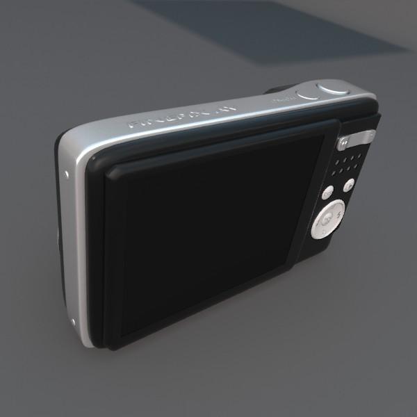digitālā kamera 100 3d 3ds fbx blend obj 120546