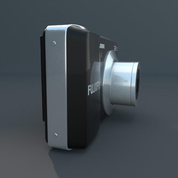 digitālā kamera 100 3d 3ds fbx blend obj 120547