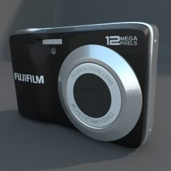 Digital camera fuji av 100 ( 40.56KB jpg by futurex3d )