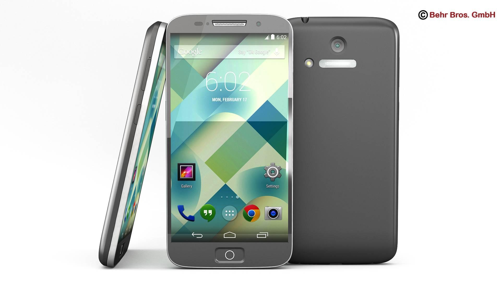 generic smartphone 4.6 inch 3d model 3ds max fbx c4d lwo ma mb obj 161634