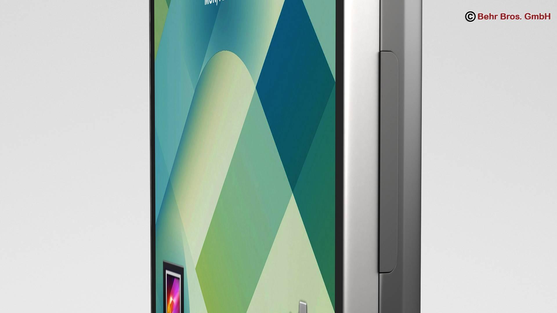 generic smartphone 4.6 inch 3d model 3ds max fbx c4d lwo ma mb obj 161638