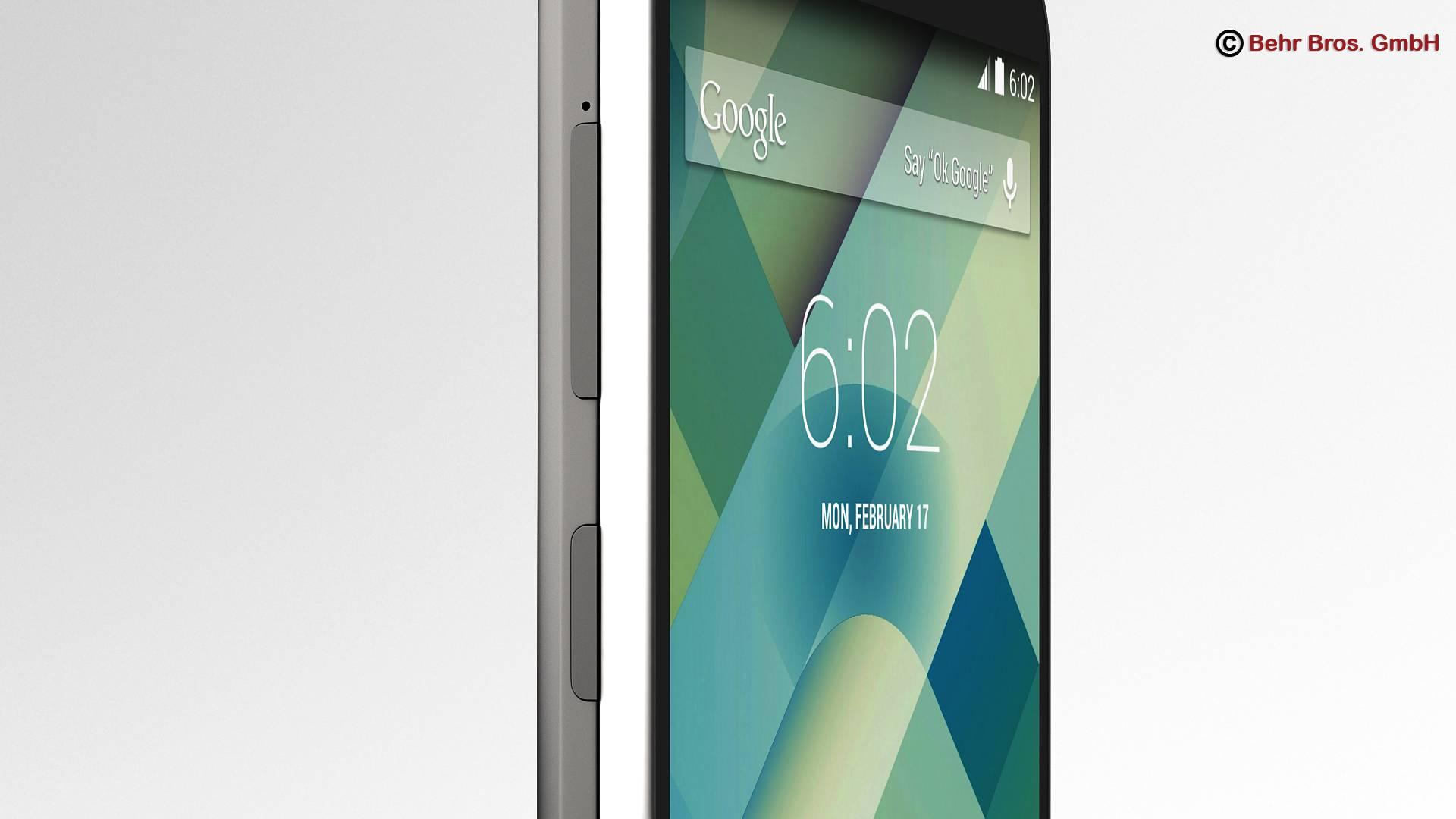 generic smartphone 4.6 inch 3d model 3ds max fbx c4d lwo ma mb obj 161639