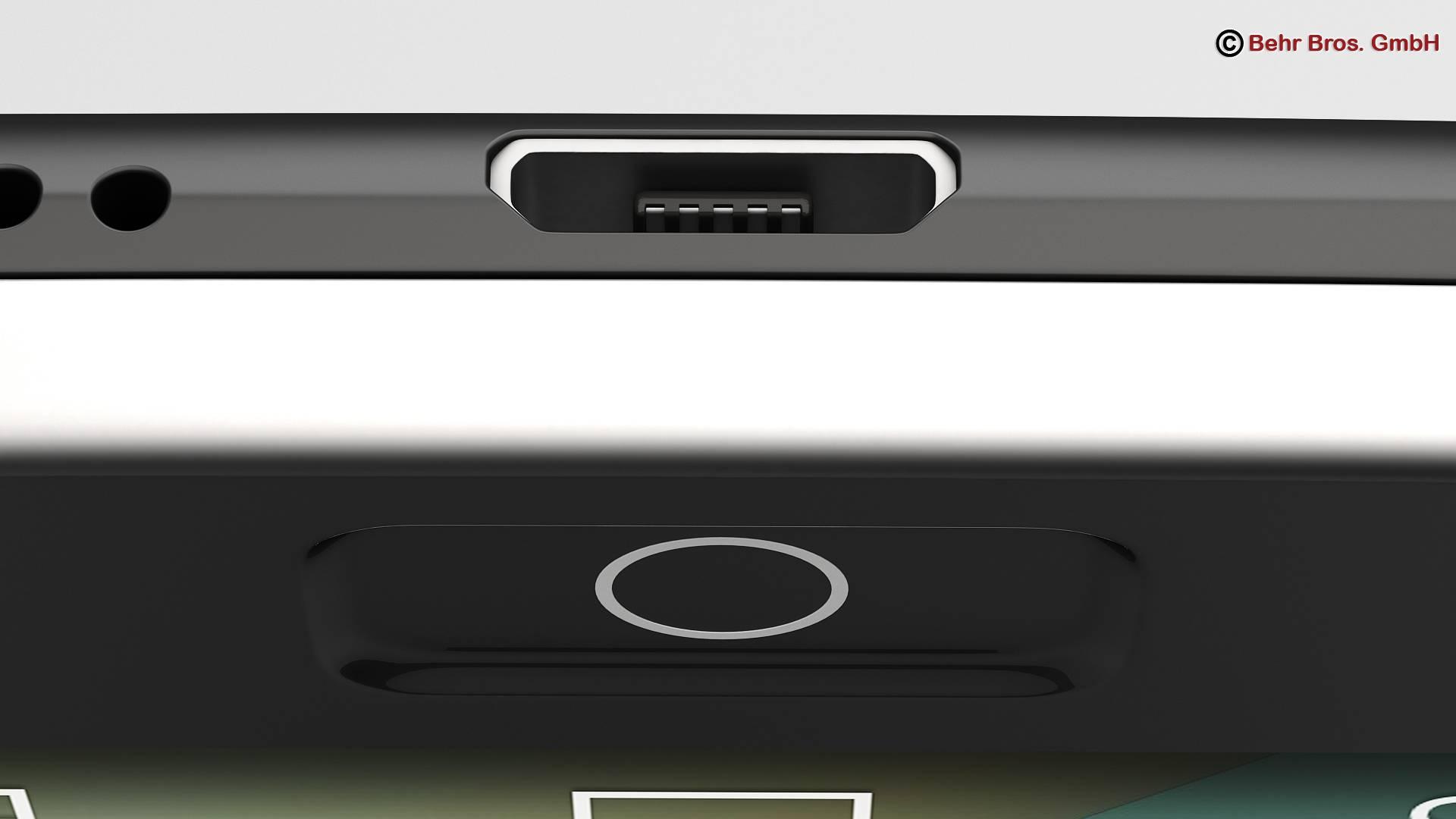 generic smartphone 4.6 inch 3d model 3ds max fbx c4d lwo ma mb obj 161641