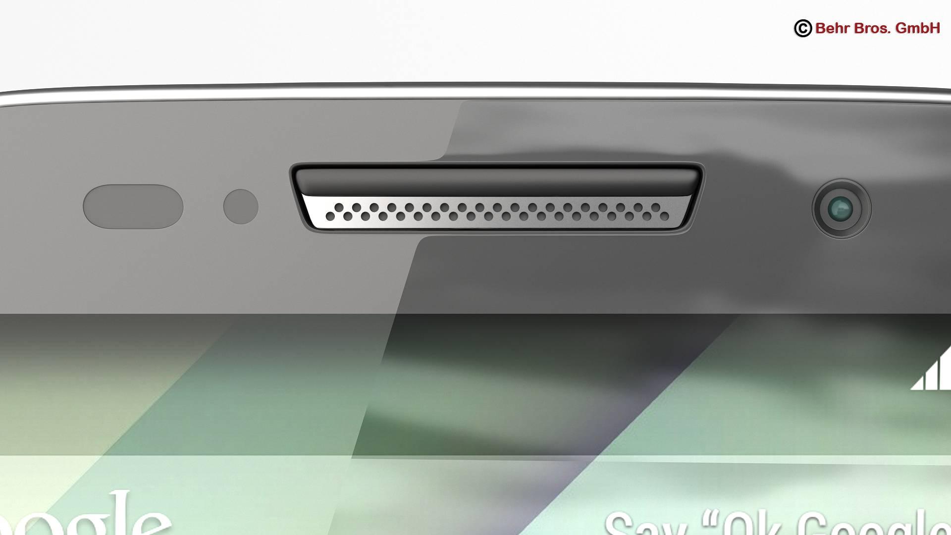 generic smartphone 4.6 inch 3d model 3ds max fbx c4d lwo ma mb obj 161643