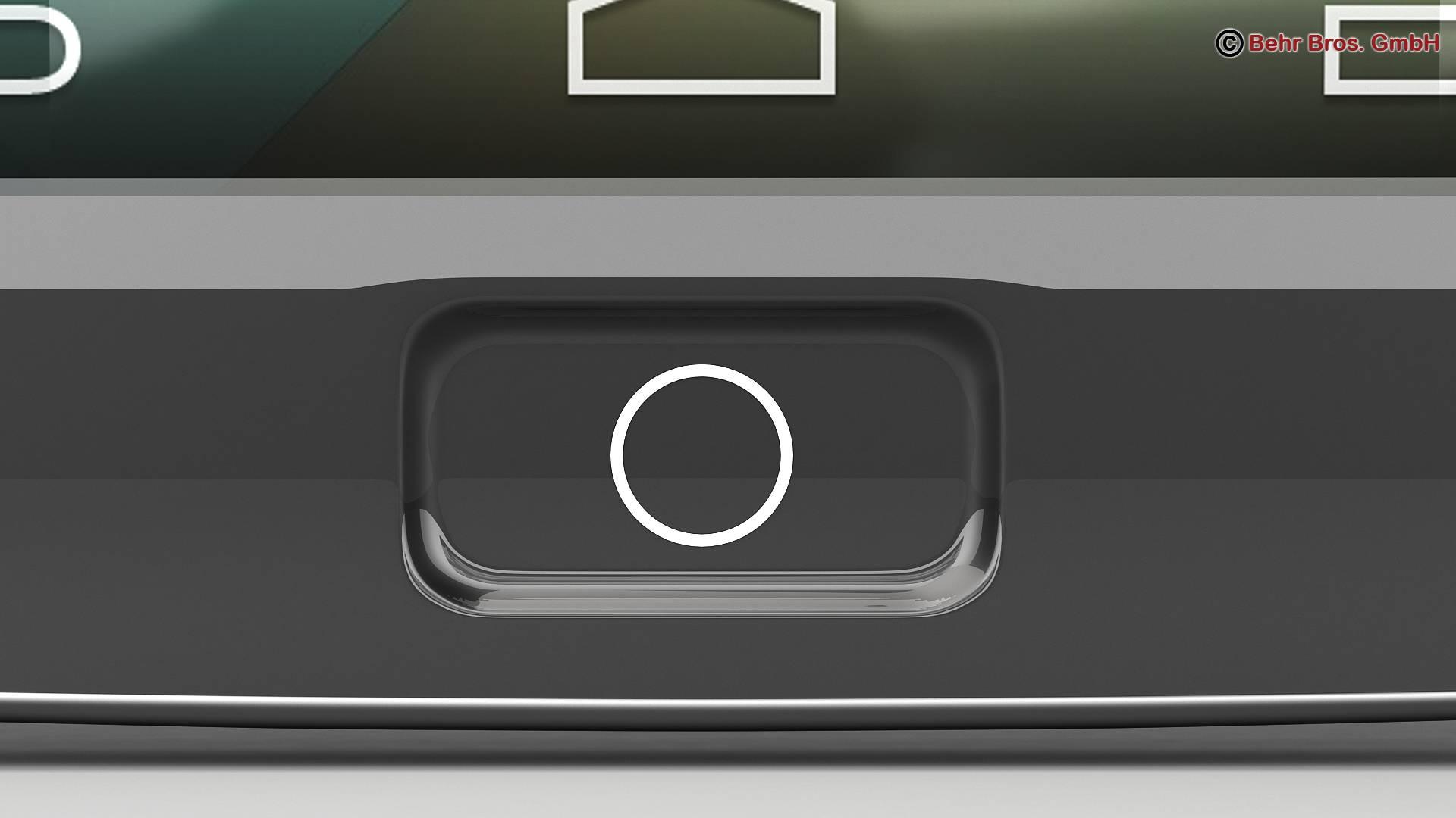 generic smartphone 4.6 inch 3d model 3ds max fbx c4d lwo ma mb obj 161644