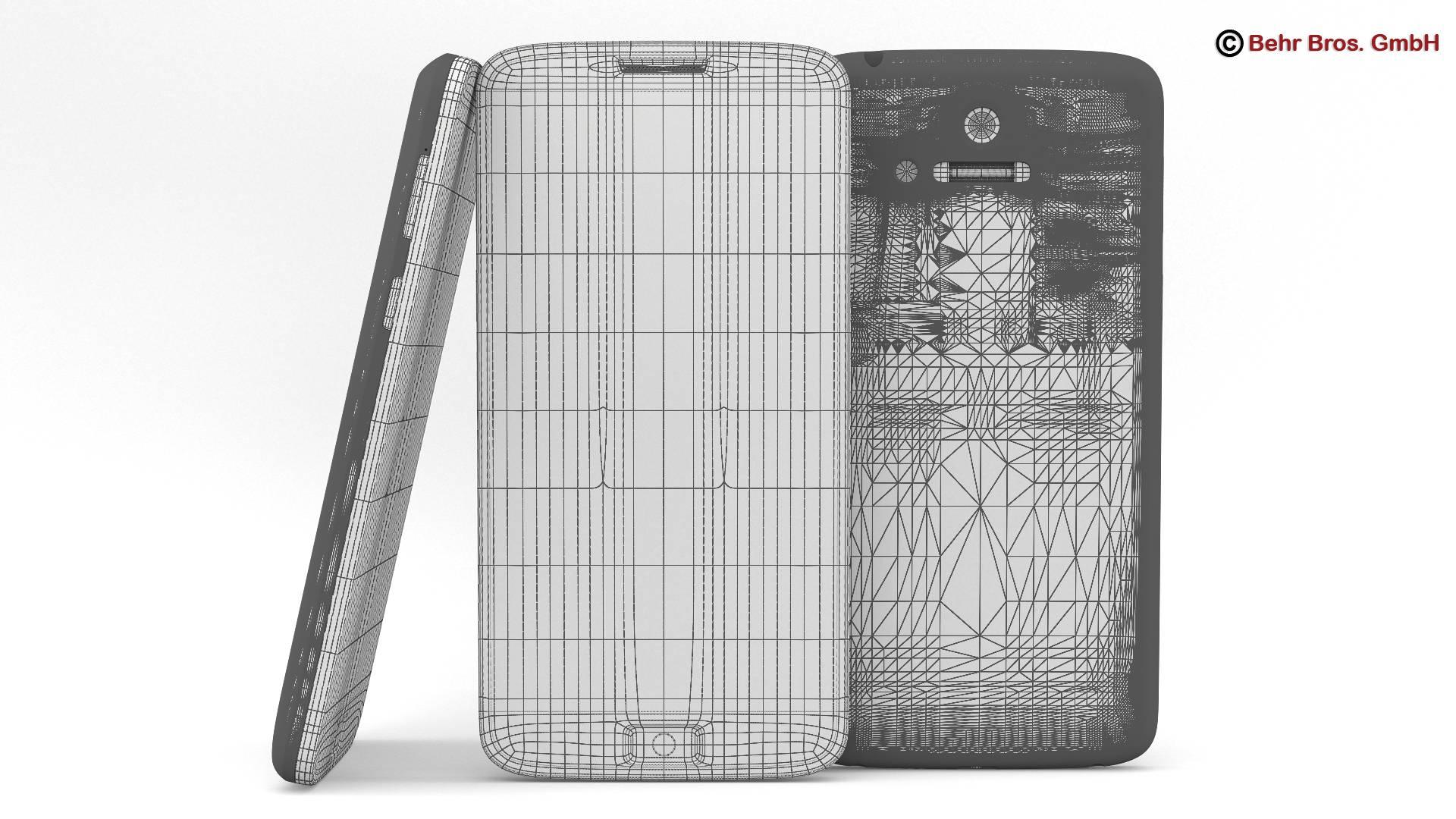 generic smartphone 4.6 inch 3d model 3ds max fbx c4d lwo ma mb obj 161645