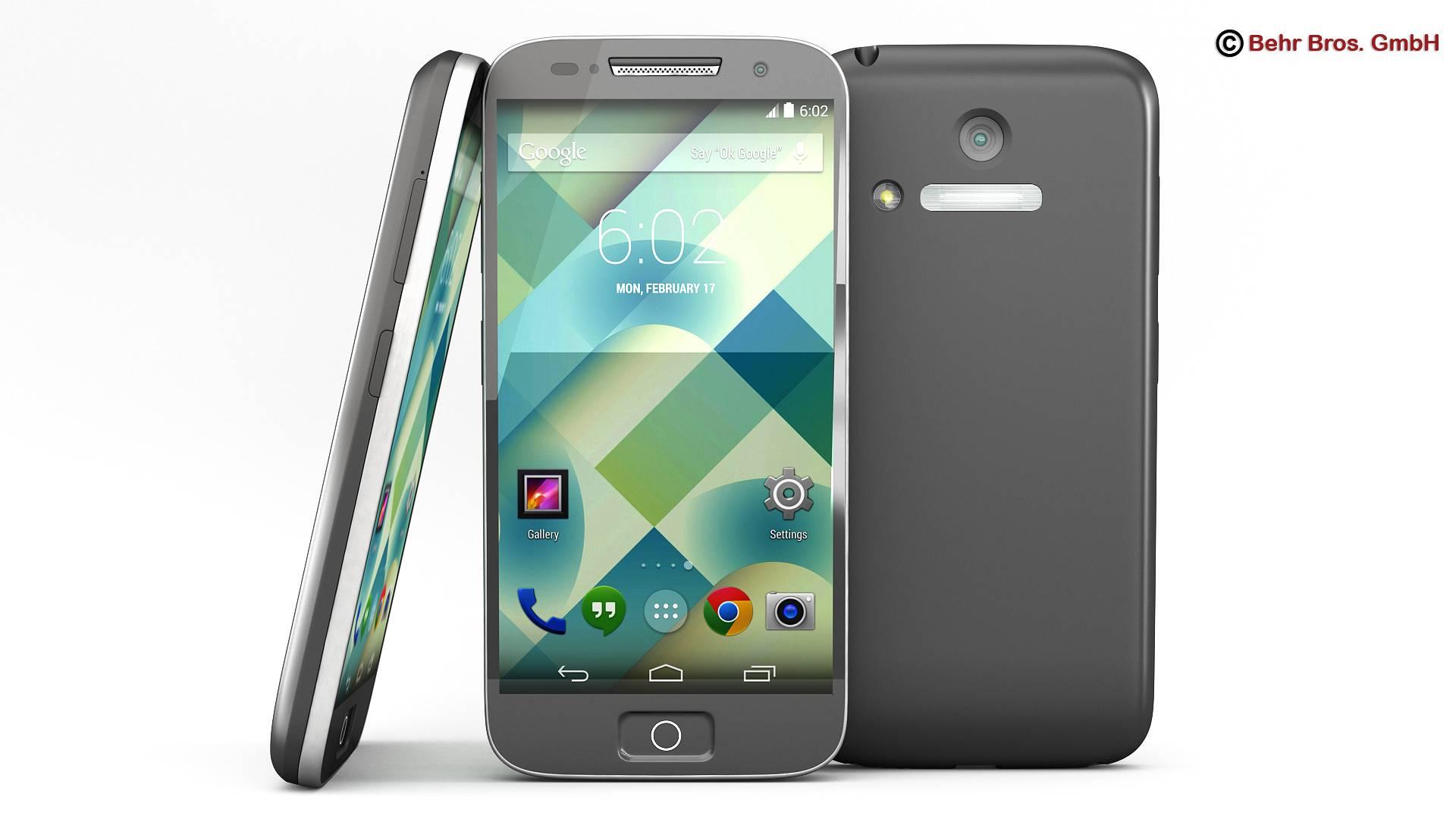 generic smartphone 4 cal 3d model 3ds max fbx c4d lwo ma mb obj 161622