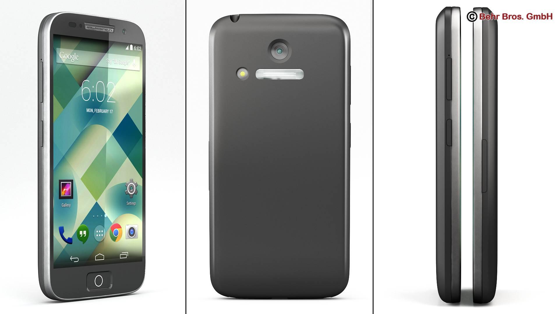 generic smartphone 4 inch 3d model 3ds max fbx c4d lwo ma mb obj 161623