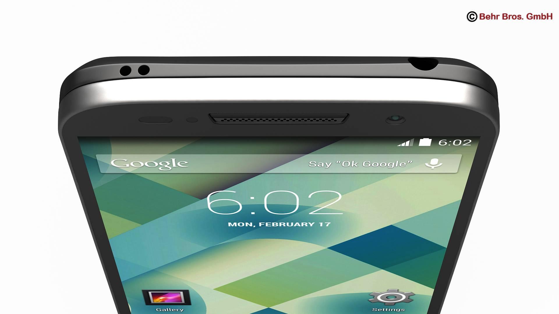 generic smartphone 4 inch 3d model 3ds max fbx c4d lwo ma mb obj 161625