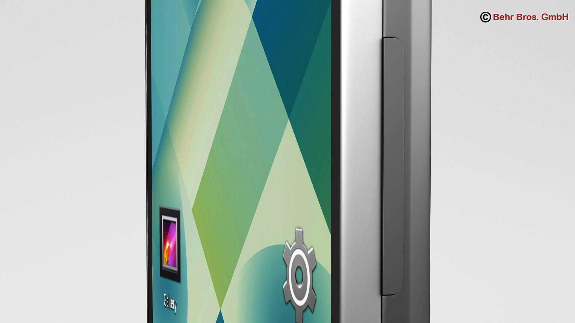 generic smartphone 4 inch 3d model 3ds max fbx c4d lwo ma mb obj 161626