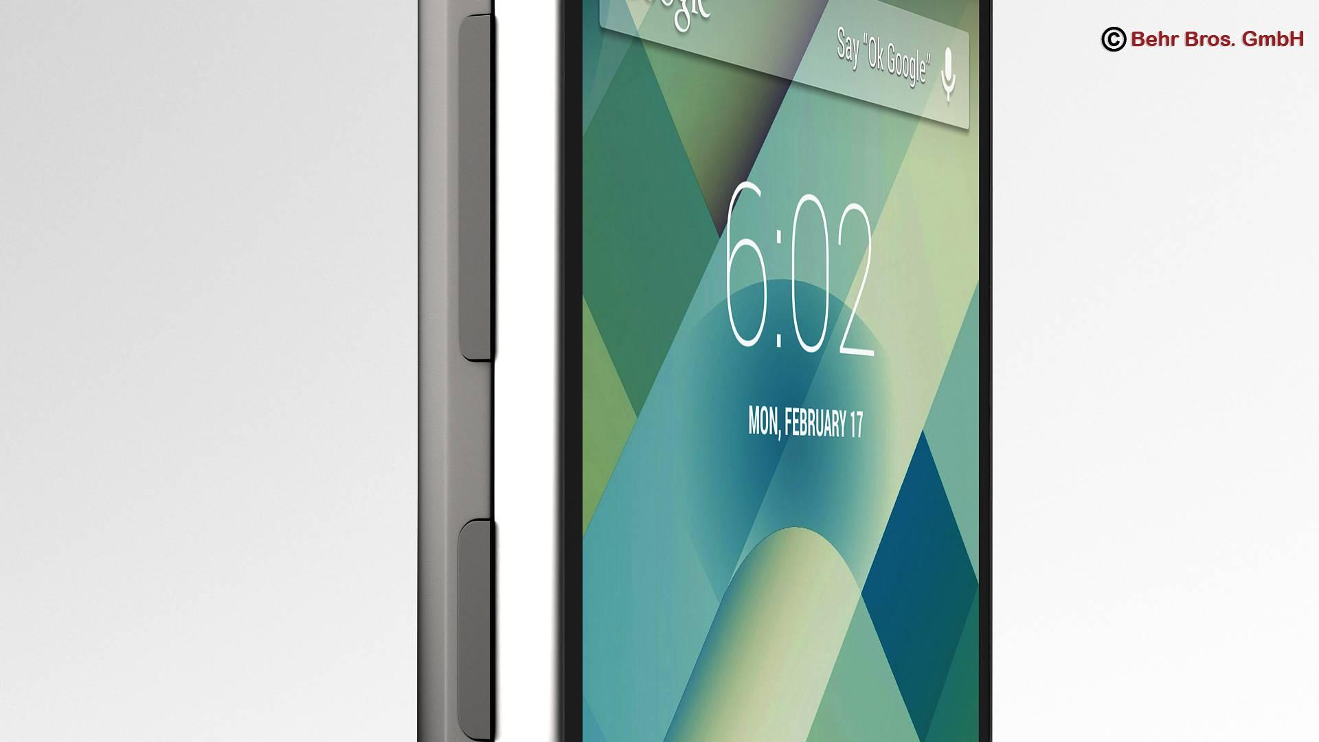 generic smartphone 4 inch 3d model 3ds max fbx c4d lwo ma mb obj 161627