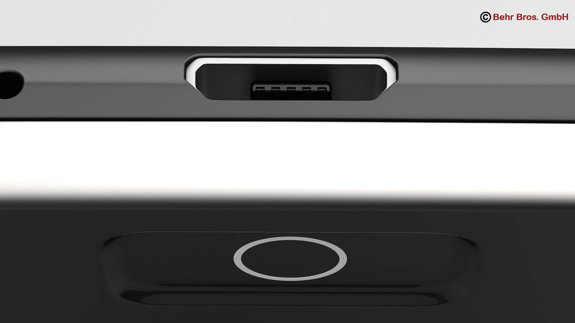 generic smartphone 4 inch 3d model 3ds max fbx c4d lwo ma mb obj 161629