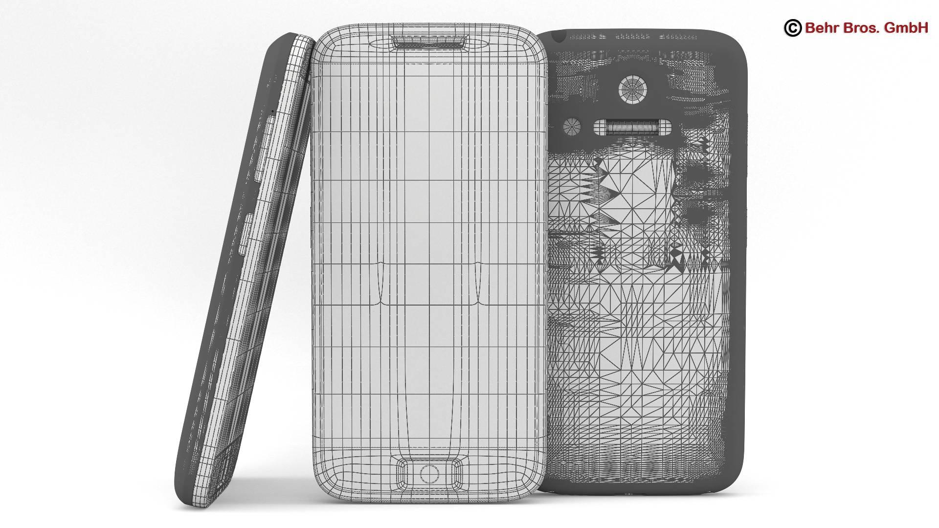 generic smartphone 4 inch 3d model 3ds max fbx c4d lwo ma mb obj 161633
