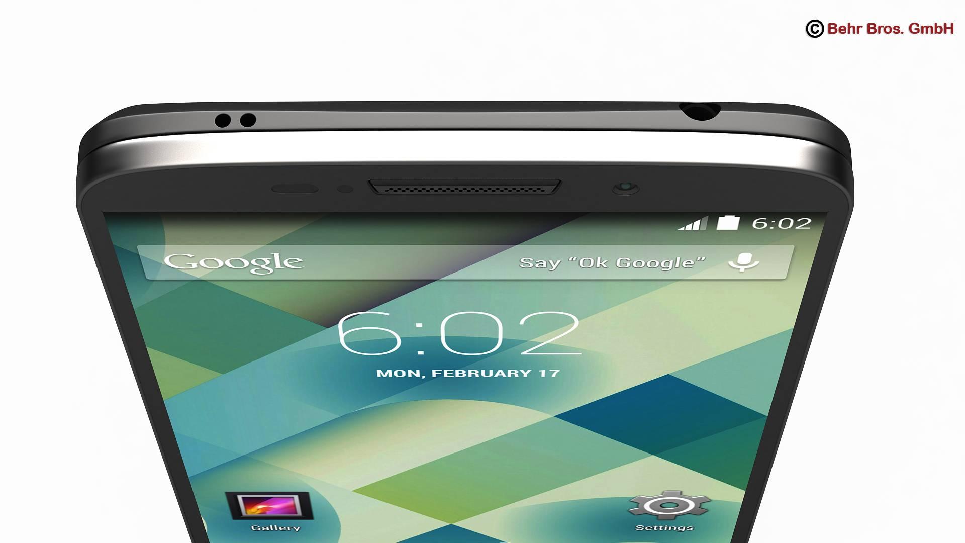 generic smartphone 5.2 inch 3d model 3ds max fbx c4d lwo ma mb obj 161649