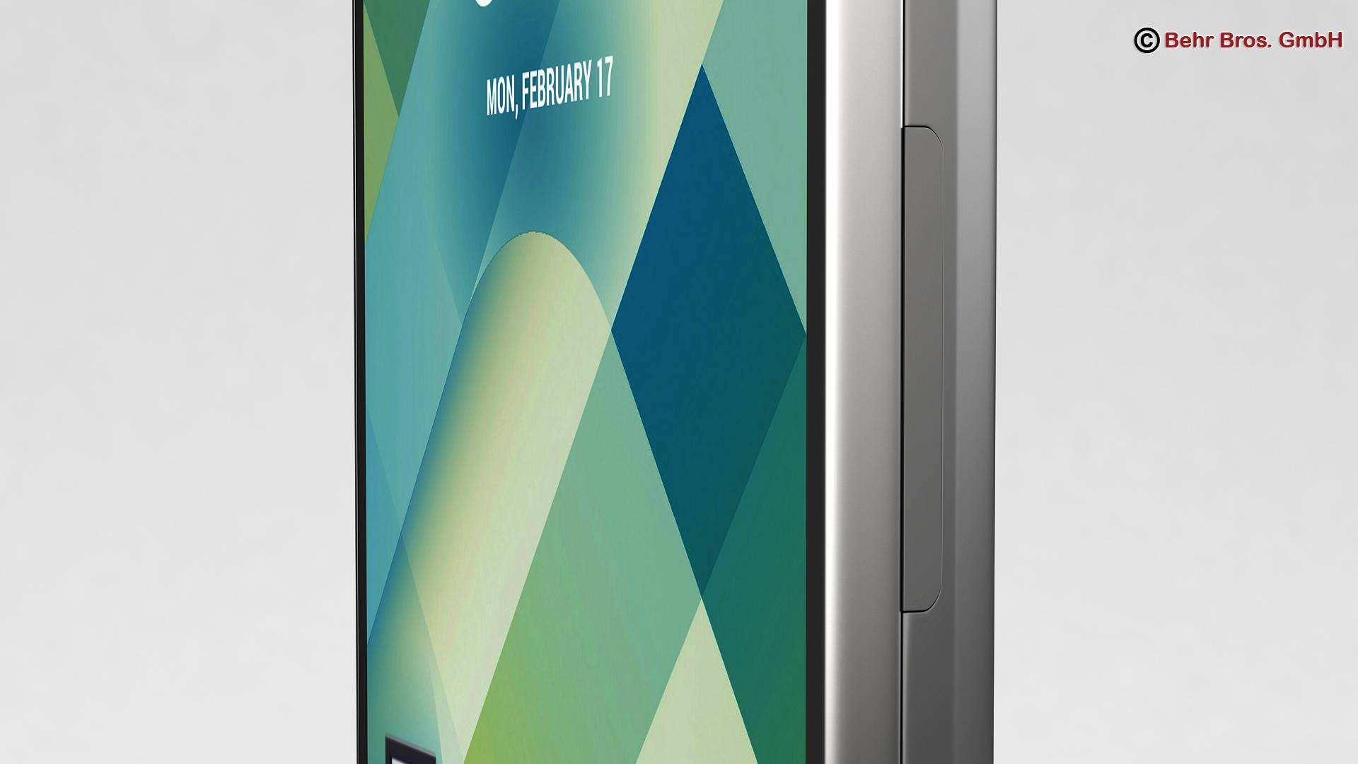 generic smartphone 5.2 inch 3d model 3ds max fbx c4d lwo ma mb obj 161650