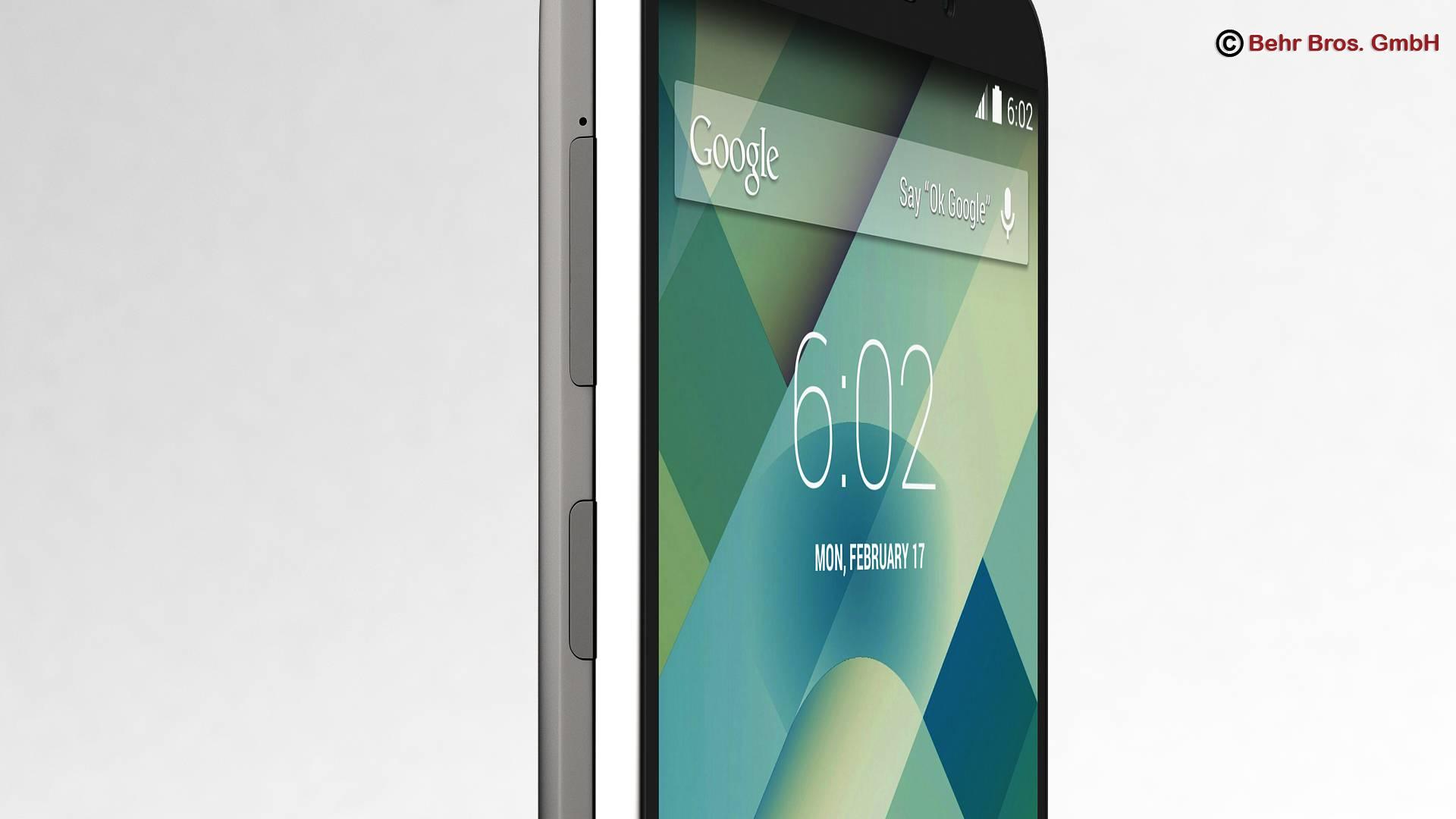 generic smartphone 5.2 inch 3d model 3ds max fbx c4d lwo ma mb obj 161651