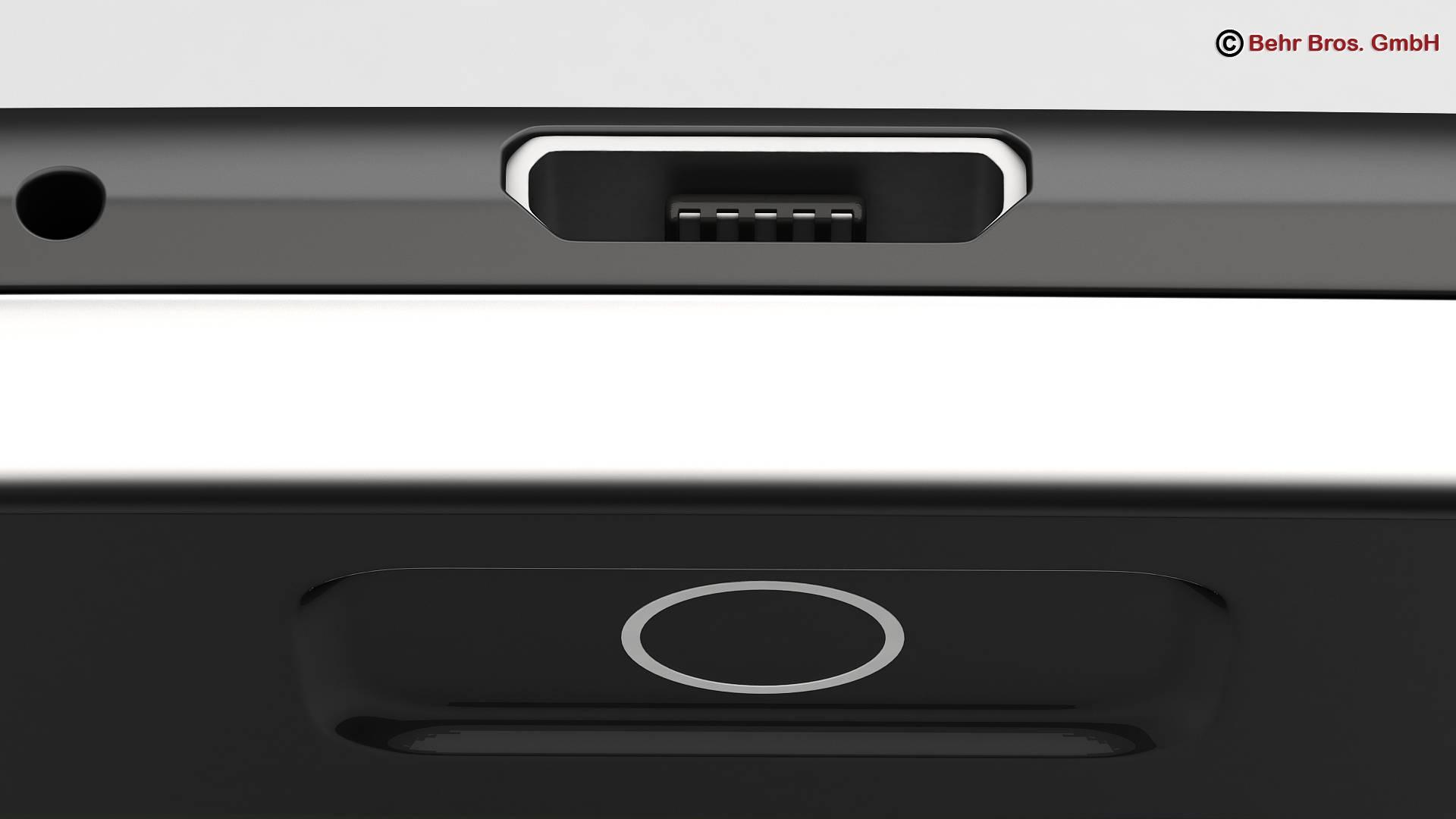 generic smartphone 5.2 inch 3d model 3ds max fbx c4d lwo ma mb obj 161653