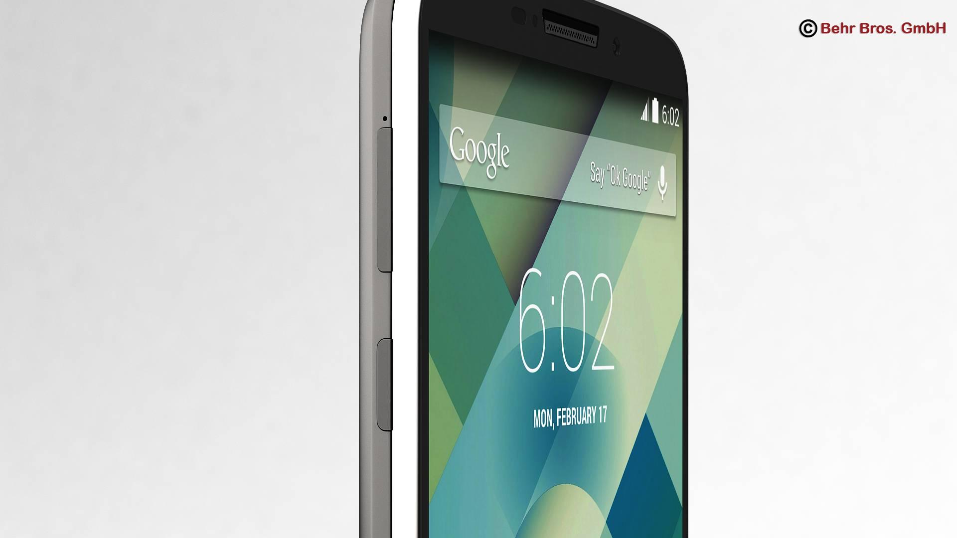 generic smartphone 6 inch 3d model 3ds max fbx c4d lwo ma mb obj 161663