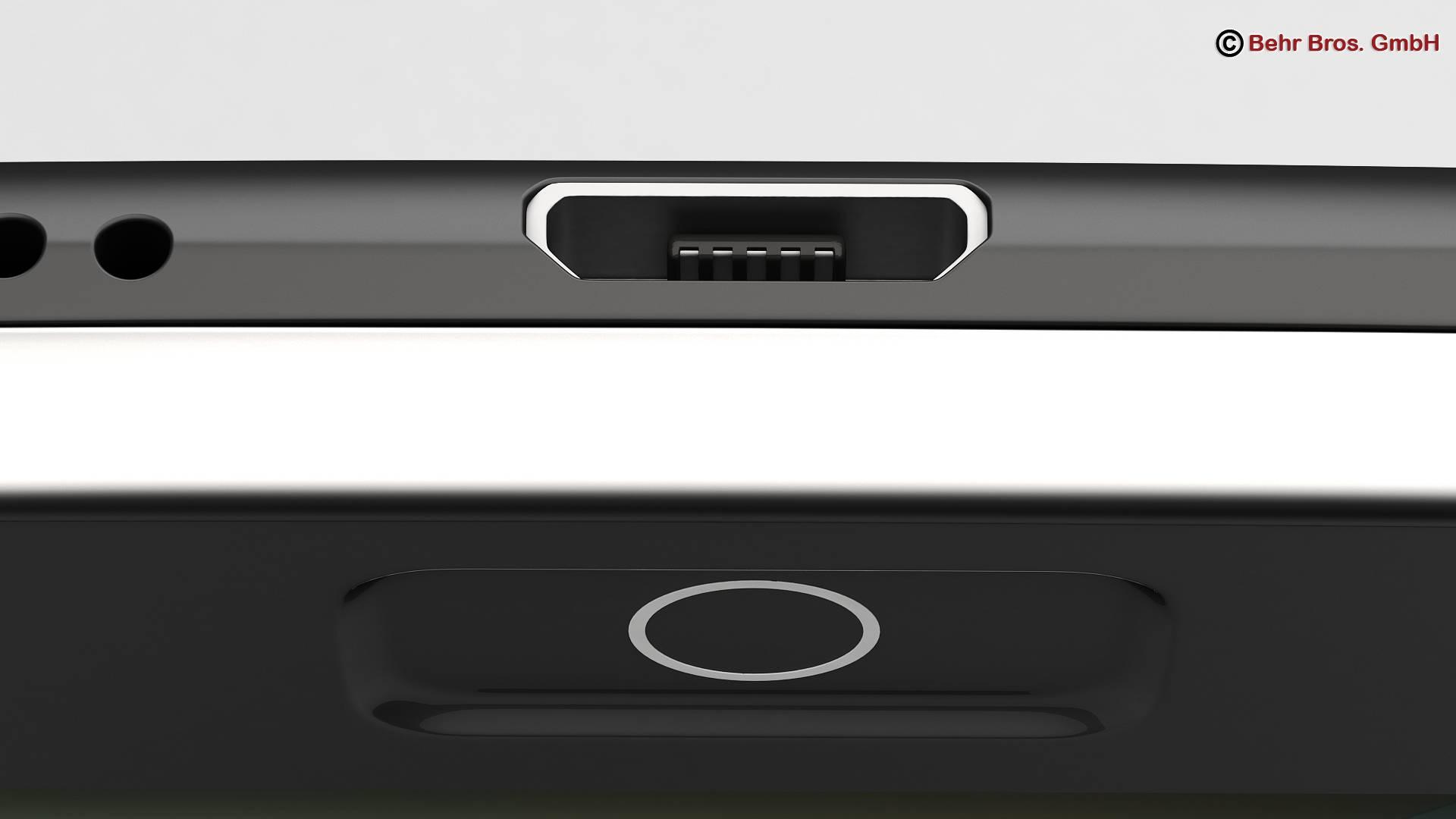 generic smartphone 6 inch 3d model 3ds max fbx c4d lwo ma mb obj 161665