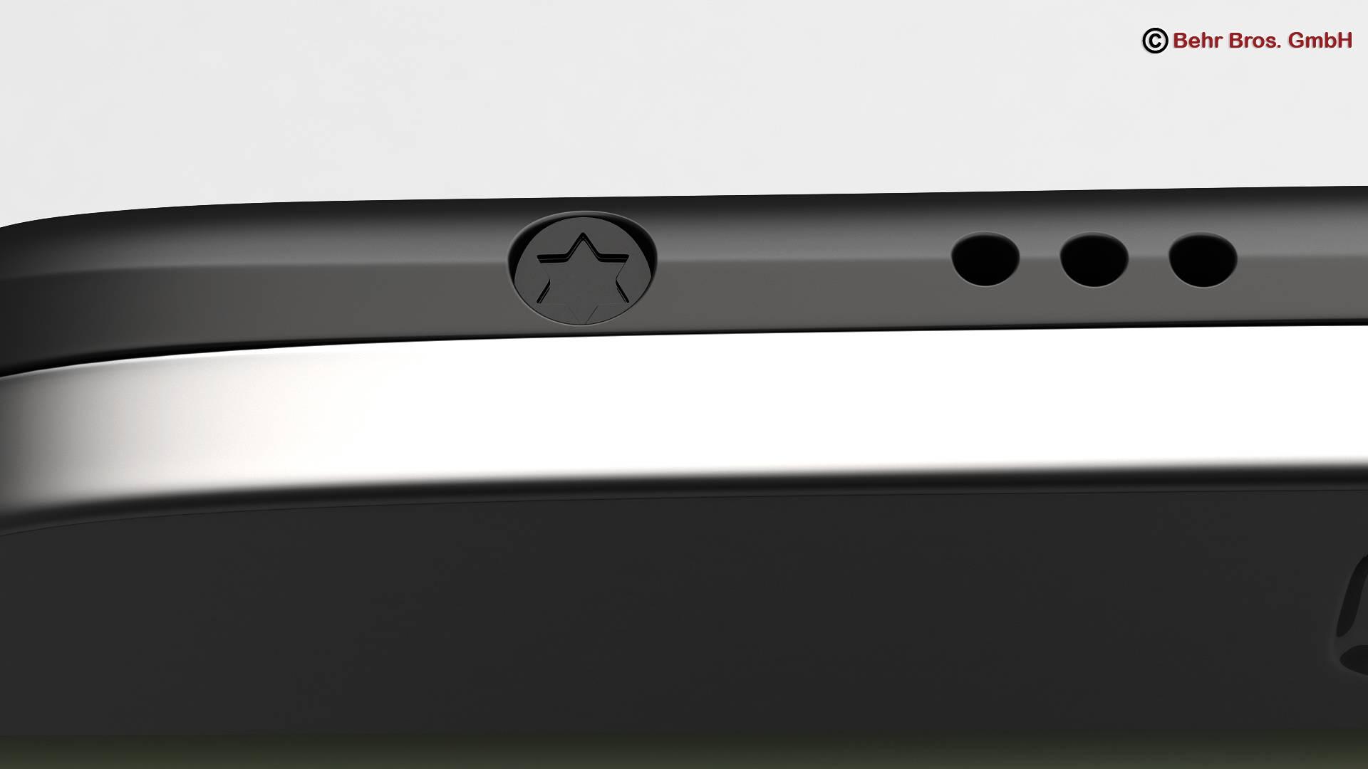 generic smartphone 6 inch 3d model 3ds max fbx c4d lwo ma mb obj 161666