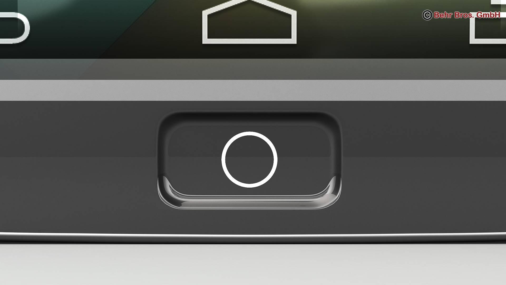 generic smartphone 6 inch 3d model 3ds max fbx c4d lwo ma mb obj 161668