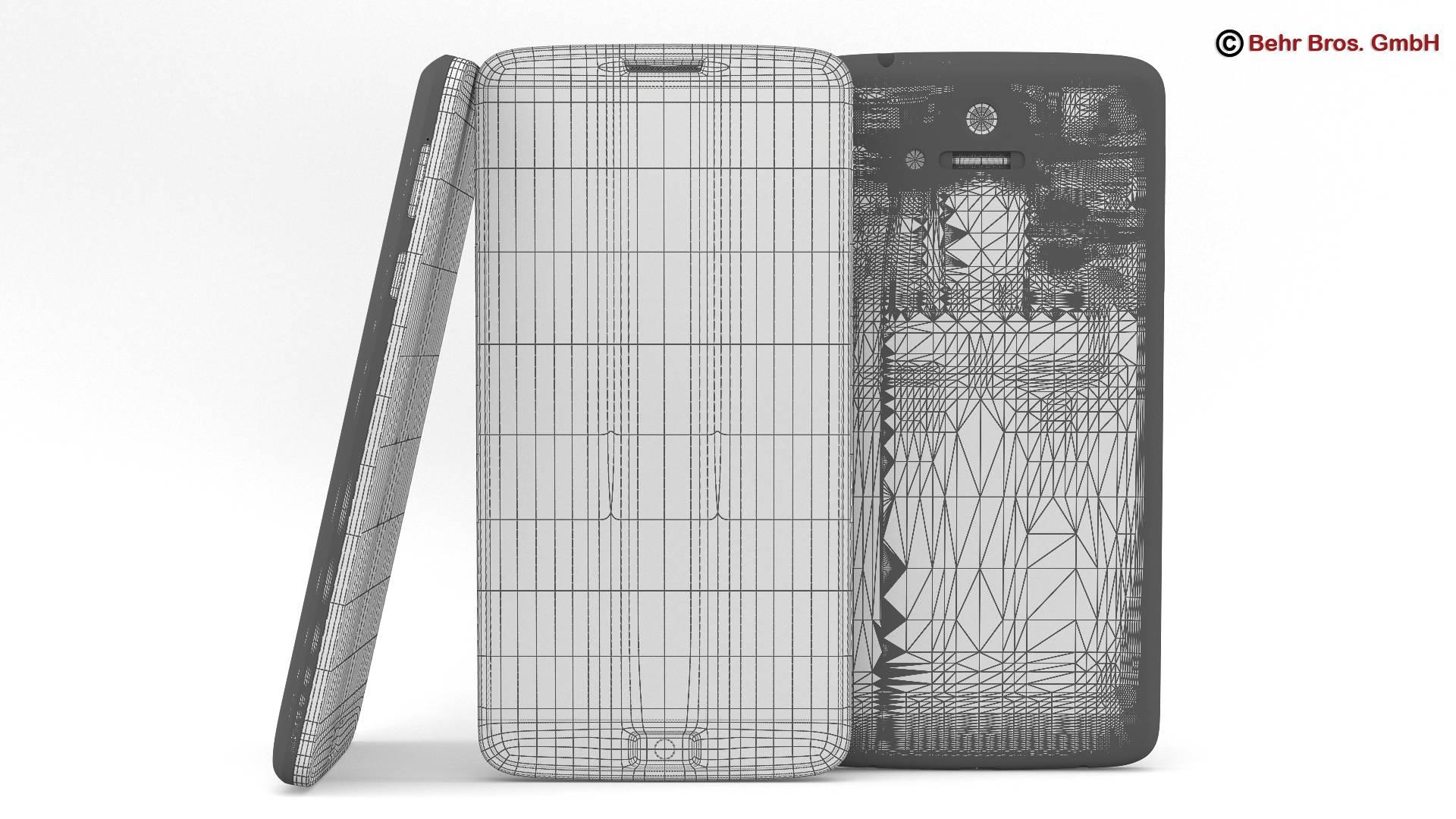 generic smartphone 6 inch 3d model 3ds max fbx c4d lwo ma mb obj 161669