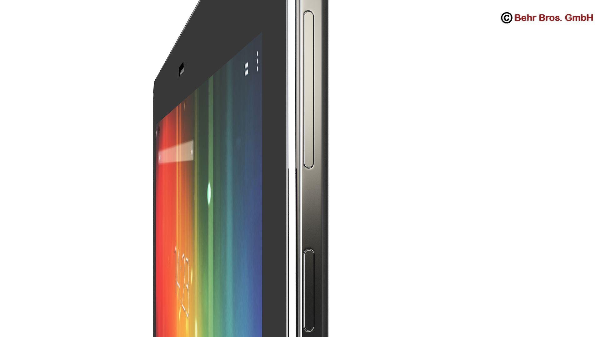 generic tablet 10.1 inch 3d model 3ds max fbx c4d lwo ma mb obj 162886
