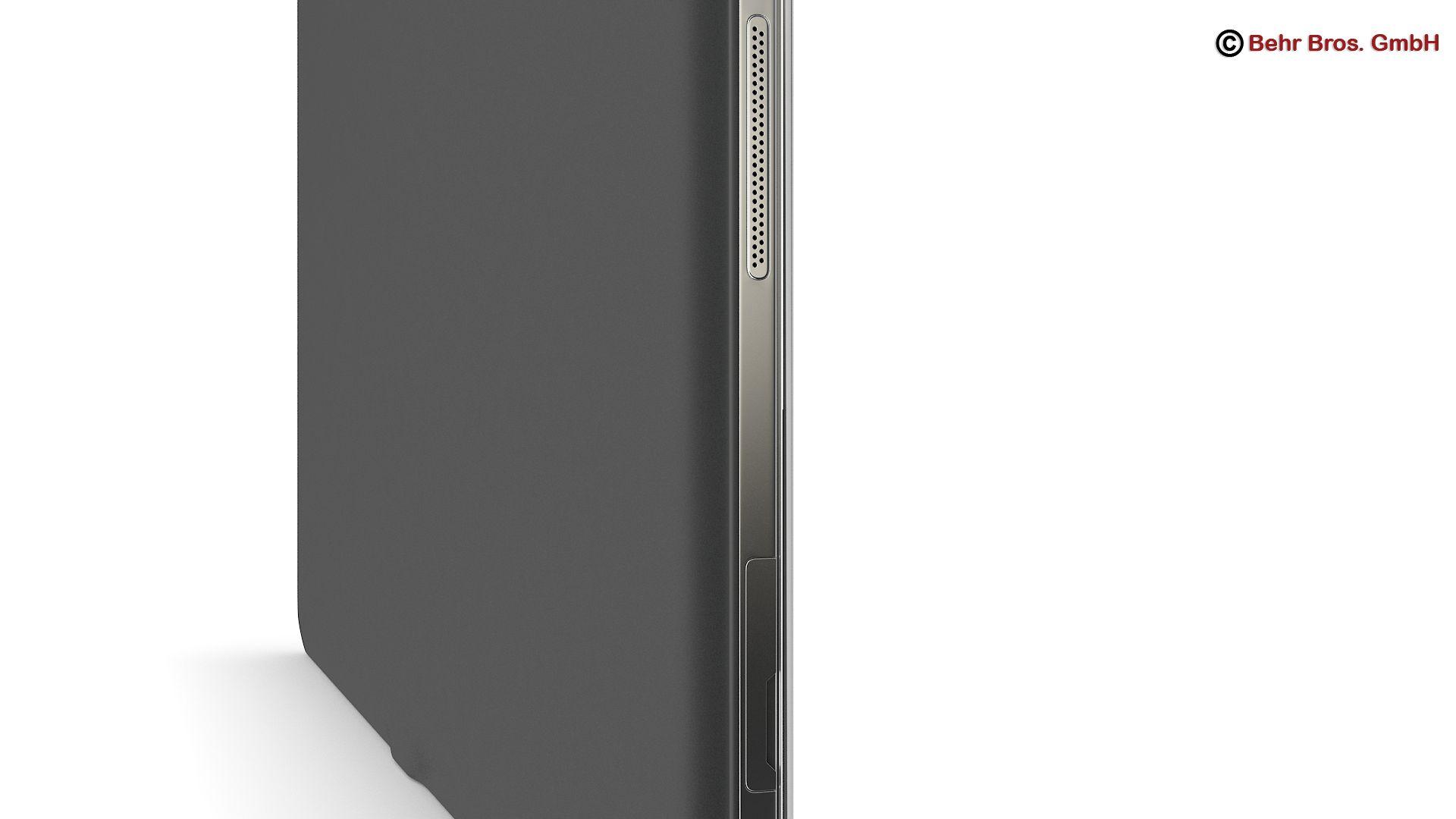 generic tablet 10.1 inch 3d model 3ds max fbx c4d lwo ma mb obj 162887